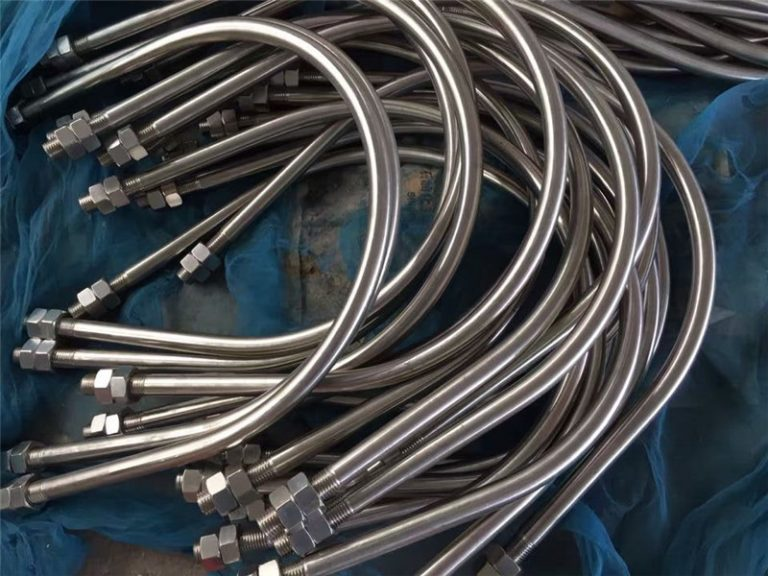 hợp kim825 en 2.4858 thép không gỉ u bolt hợp kim718 en2.4668 từ Trung Quốc