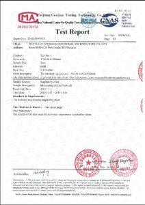 Giấy chứng nhận cho A453 660B
