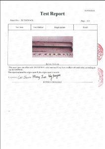 Giấy chứng nhận cho A453 660B 3