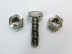Hợp kim825 & 800 đai ốc bằng thép không gỉ din934 en 2.4858 en1.4558
