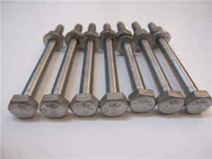 Đầu Hex Qulity tốt nhất DIN933 Titanium Bolt Gr2 để bán