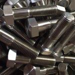 hợp kim niken 600 en 2.4816 bu lông đinh tán nhà cung cấp din931chinese