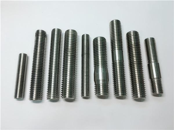 hợp kim718 / 2.4668 thanh chủ đề, bu lông stud fastener din975 / din976