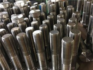 Bu lông số 12-hex ISO4014 nửa sợi A193 B8, B8M, B8T, B8C SS fastener