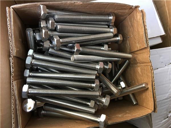310s / 1.4845 ốc vít bằng thép không gỉ đặc biệt ốc vít hex nut máy giặt m24 * 80mm