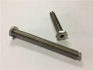 Dây khóa bằng titan rỗng 64 với lỗ thông hơi bằng hợp kim Titan 6Al4V