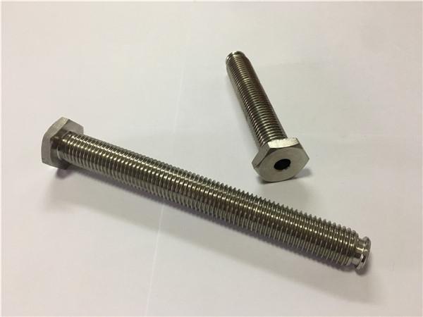 ốc vít titan nhà cung cấp bán ti6al4v gr5 bu lông bánh xe titan hoặc phần cứng khác