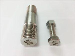 Số 74-625 ốc vít inconel trong niken