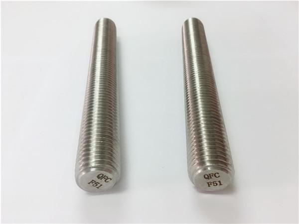 duplex2205 / s32205 ốc vít thép không gỉ din975 / din976 thanh ren f51