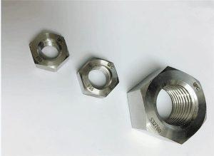 Chốt kép bằng thép không gỉ 2205 / F55 / 1.4501 / S32760 hex hex M20